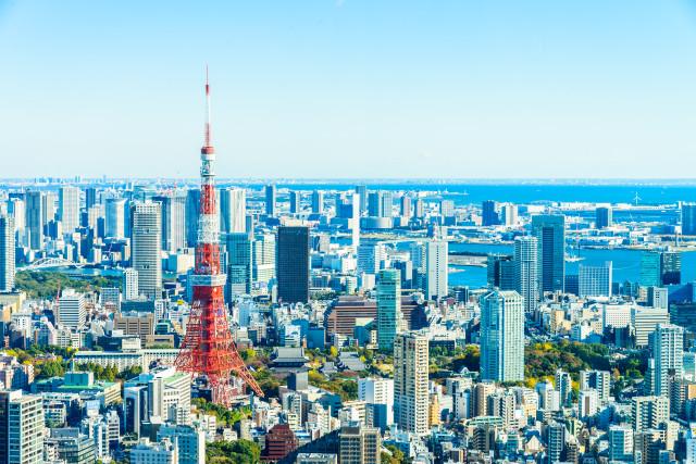Tokyo cityscape skyline