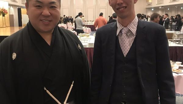 九重部屋千秋楽パーティー